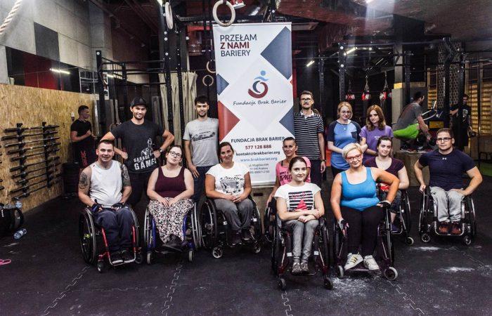 Crossfit na wózku - Fundacja Brak Barier