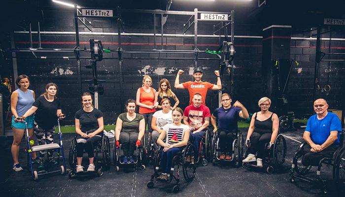 Zdjęcie grupowe Crossfit na wózku